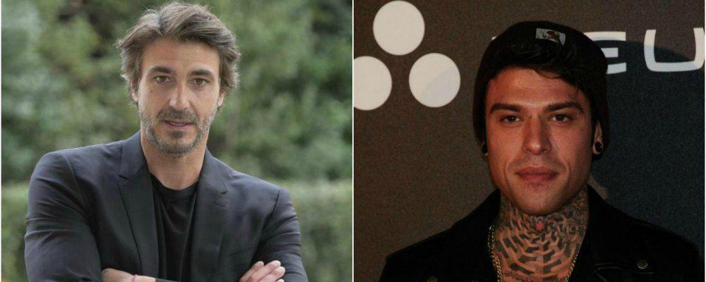 Un passo dal cielo 4, Daniele Liotti 'benedetto' da Terence Hill e guest star Fedez