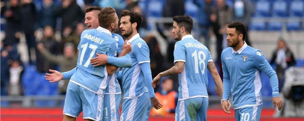 Ascolti tv, oltre 5,8 milioni di telespettatori per Roma - Lazio
