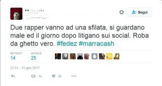 Fedez contro Marracash, lite social tra rapper nostrani: l'ironia del web