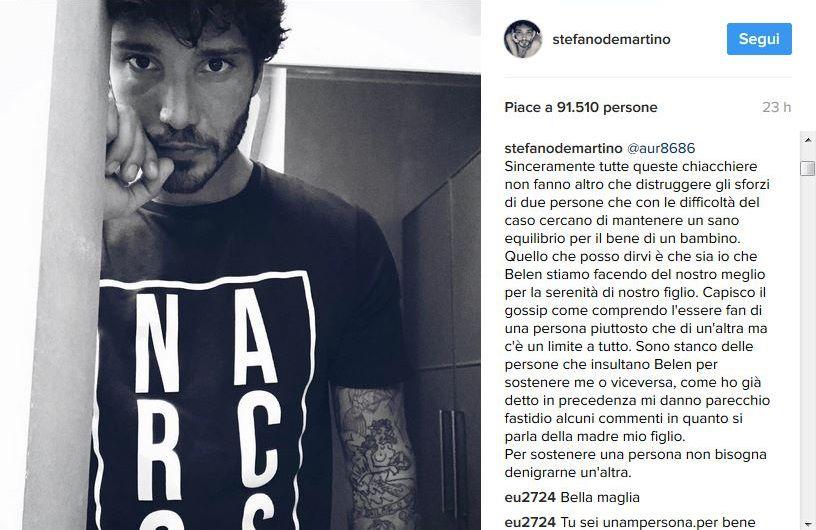Ecco chi è il nuovo amore di Stefano De Martino