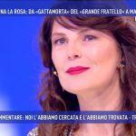 Marina La Rosa a Domenica Live: 'Dopo il Grande Fratello Pietro Taricone mi ha salvata'