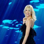 Alessia Marcuzzi balla da sola nelle acque di Dubai