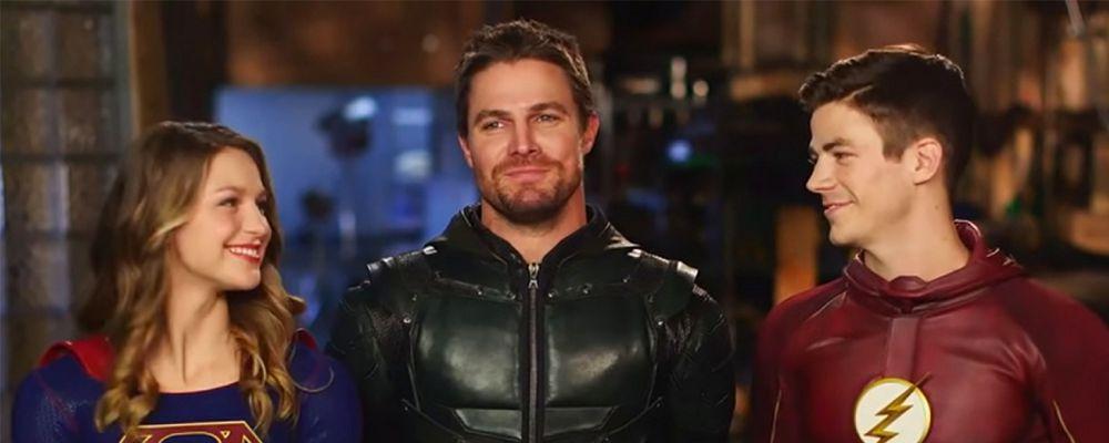 Supergirl, The Flash, Arrow: il 21 febbraio il mega crossover ma senza Legends of Tomorrow