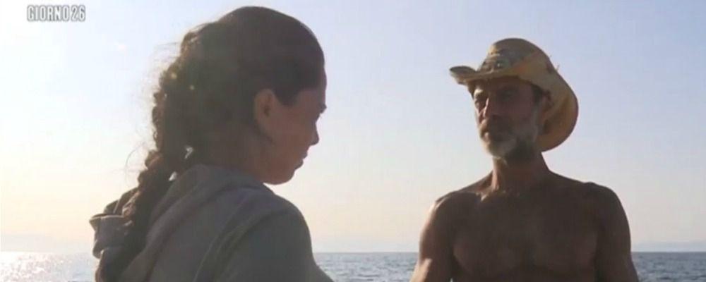 Isola dei famosi 2017, Nancy Coppola passa dalla parte di Raz Degan