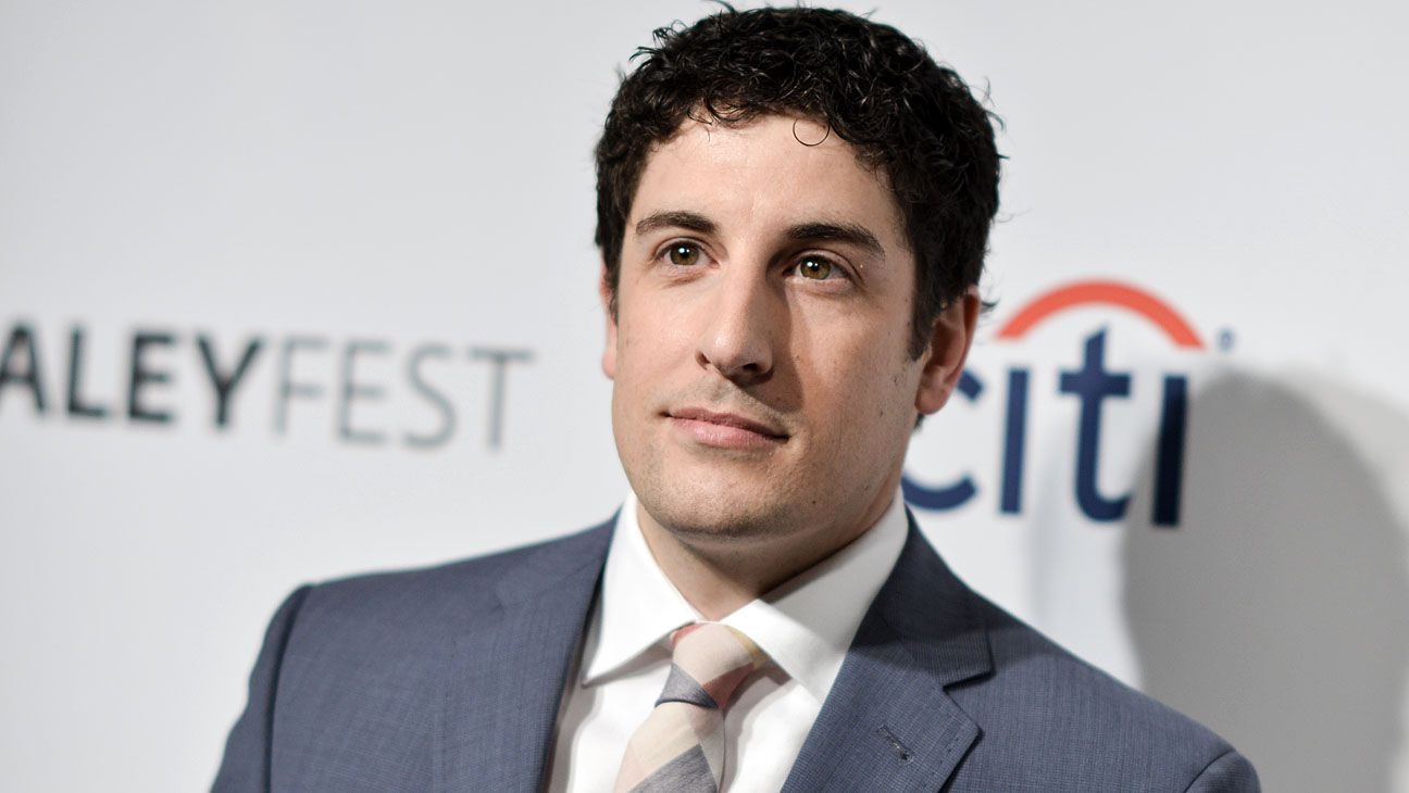 """Jason Biggs arrives at PALEYFEST 2014 - """"Orange is the New Black"""" on Friday, March 14, 2014, in Los Angeles. (Photo by Richard Shotwell/Invision/AP)"""