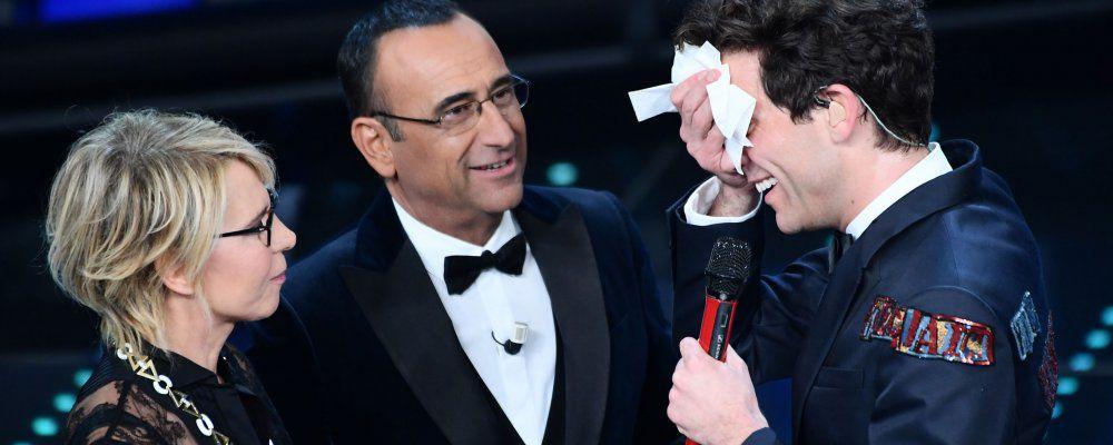 Ascolti tv, Sanremo 2017 al  49,7% per la terza serata, quella delle cover