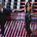Sanremo 2017, Marica Pellegrinelli: sexy ed elegante la moglie di Eros Ramazzotti
