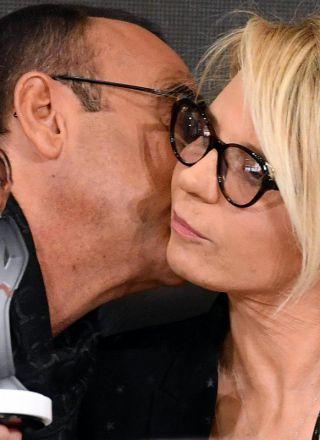 """Sanremo 2017, De Filippi: """"Il mio Oscar a Carlitos"""""""