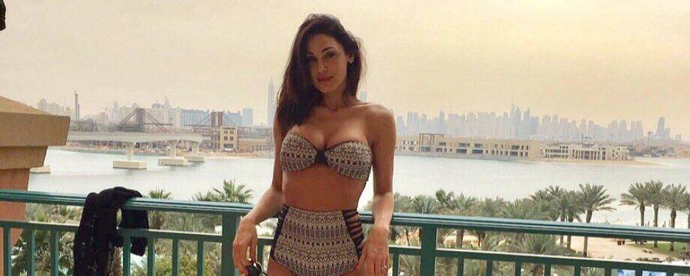 Anna Tatangelo e Gigi D'Alessio, sexy anniversario a Dubai