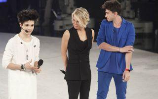 Amici 16, le foto della prima serata: quinto giudice Luca Zingaretti, ospiti Emma e Alessandra Amoroso
