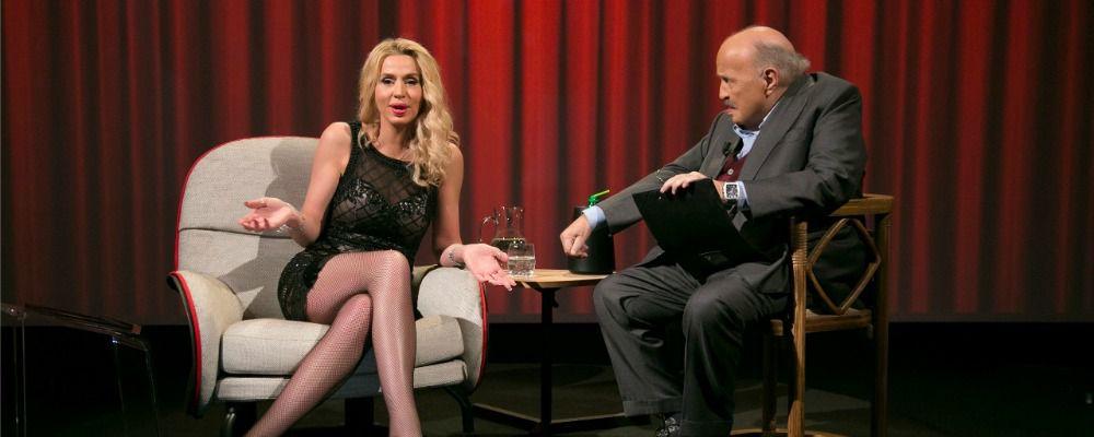 L'intervista, Maurizio Costanzo ospita Valeria Marini