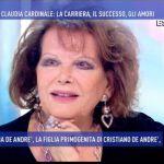 Domenica Live, Claudia Cardinale: 'Io, violentata a 16 anni'