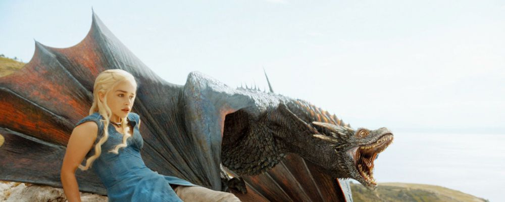 Draghi giganti per Daenerys in Game of Thrones 7, due nuove stagioni per The Big Bang Theory