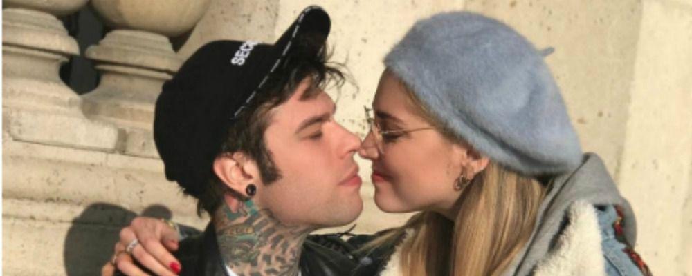 Fedez e Chiara Ferragni, tatuaggio d'amore a Parigi