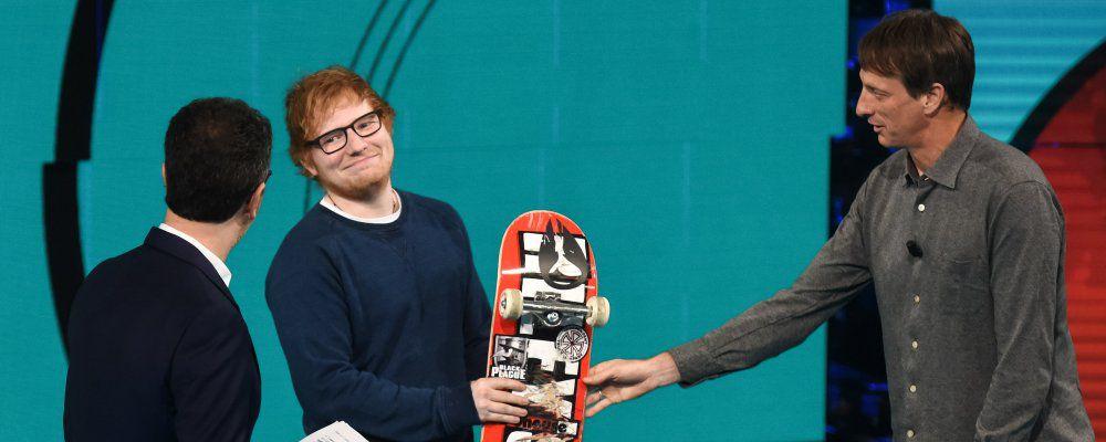 Ed Sheeran, prima da Fabio Fazio poi sul set de Il Trono di Spade 7