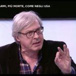 Vittorio Sgarbi e la ferita sul braccio: verità o finzione? La sua risposta su Facebook