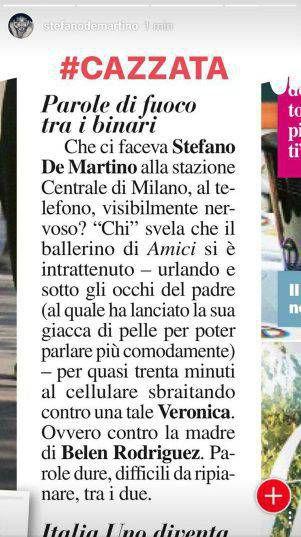 stefano-de-martino-lite-mamma-belen-smentita