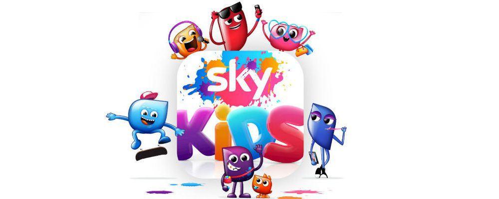 Sky Kids, la prima mobile TV on demand dedicata ai bambini