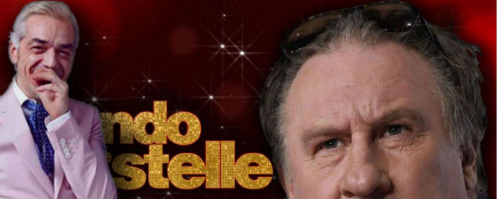 Ballando con le stelle, Morgan ospite speciale e Gérard Depardieu ballerino per una notte