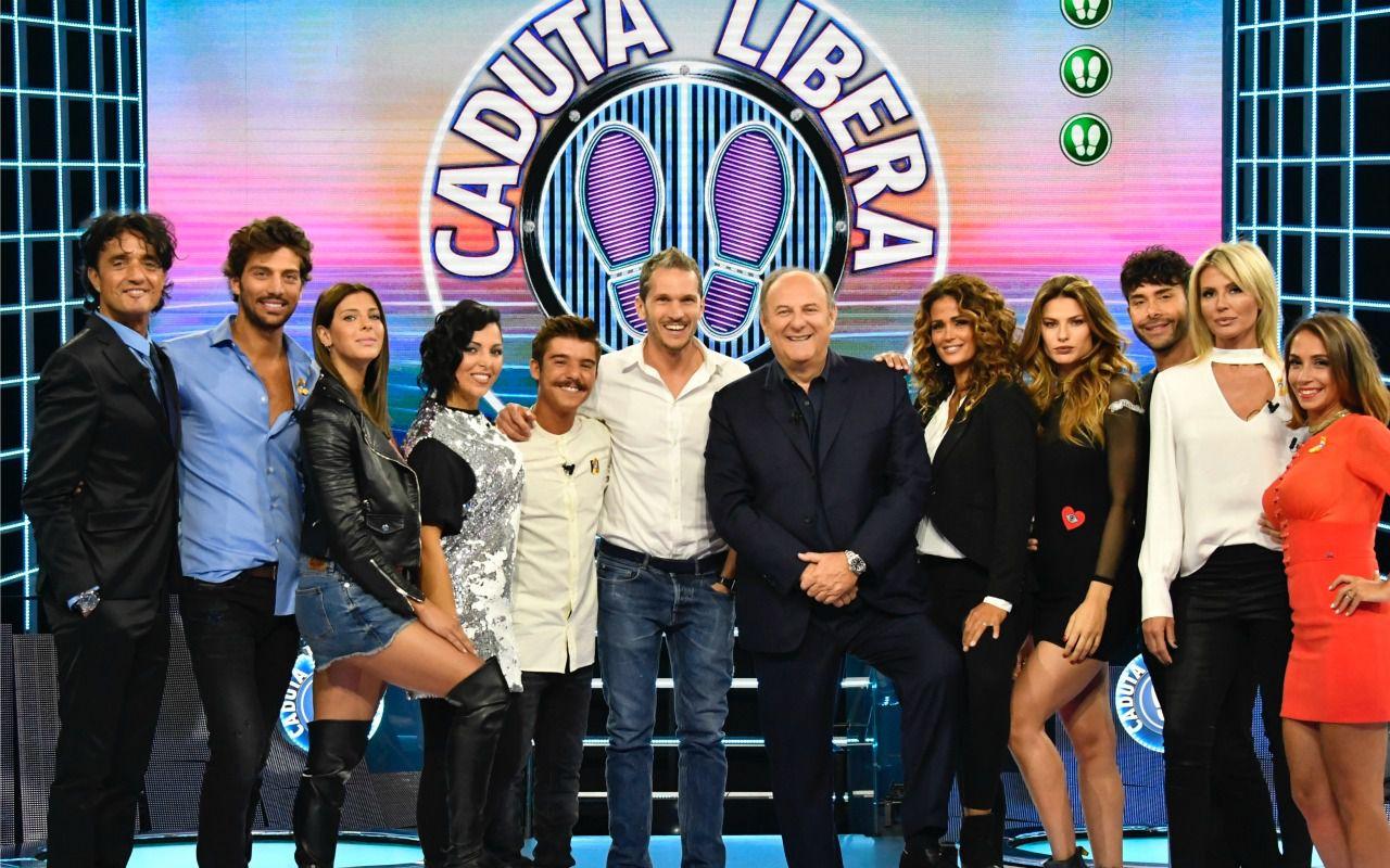 Caduta libera: Gerry Scotti torna con i protagonisti de L'isola dei famosi