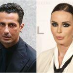 Fabrizio Corona accusa: 'La bomba carta era del compagno di Nina Moric'. Lei non ci sta