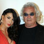 Flavio Briatore dopo le voci di crisi con Elisabetta Gregoraci bacia una mora