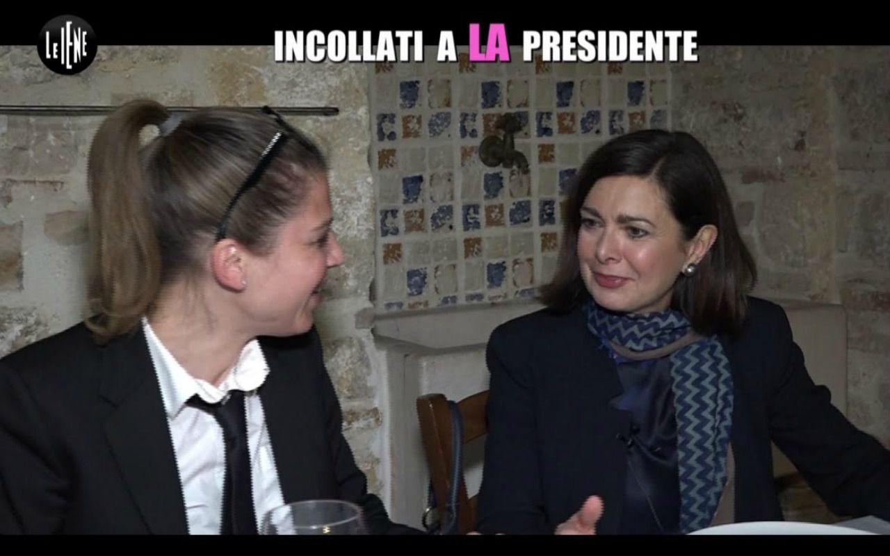 Le Iene Show, 48 ore con la presidente della Camera Laura Boldrini