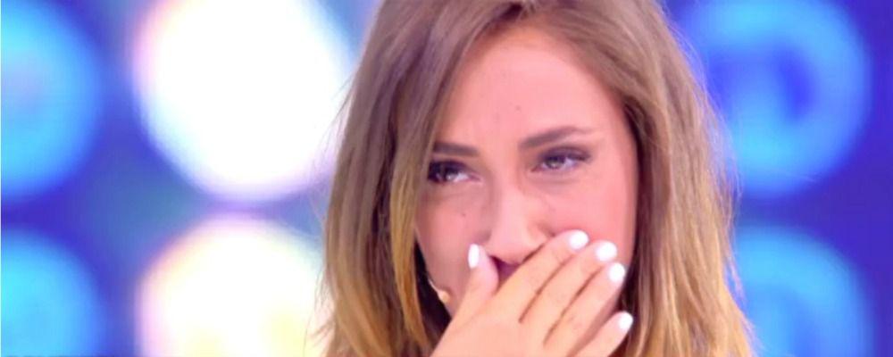 Domenica Live, le lacrime di Malena: Mio padre mi ha