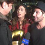 Striscia la notizia, Tapiro a Belen Rodriguez e Andrea Iannone per le foto hot