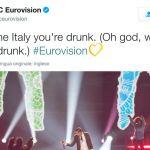 Eurovision Song Contest 2017, gli inglesi danno dell'ubriaco a Gabbani e la rete si scatena