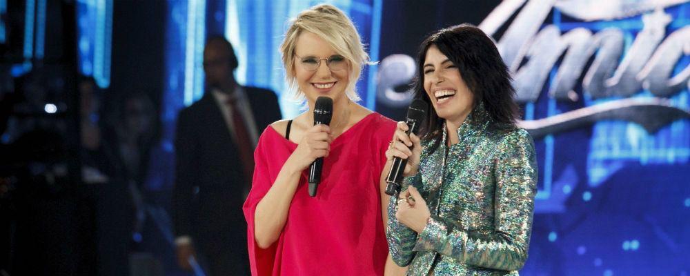 Amici di Maria De Filippi 2017, nell'ottavo serale ospiti Giorgia e Sabrina Ferilli