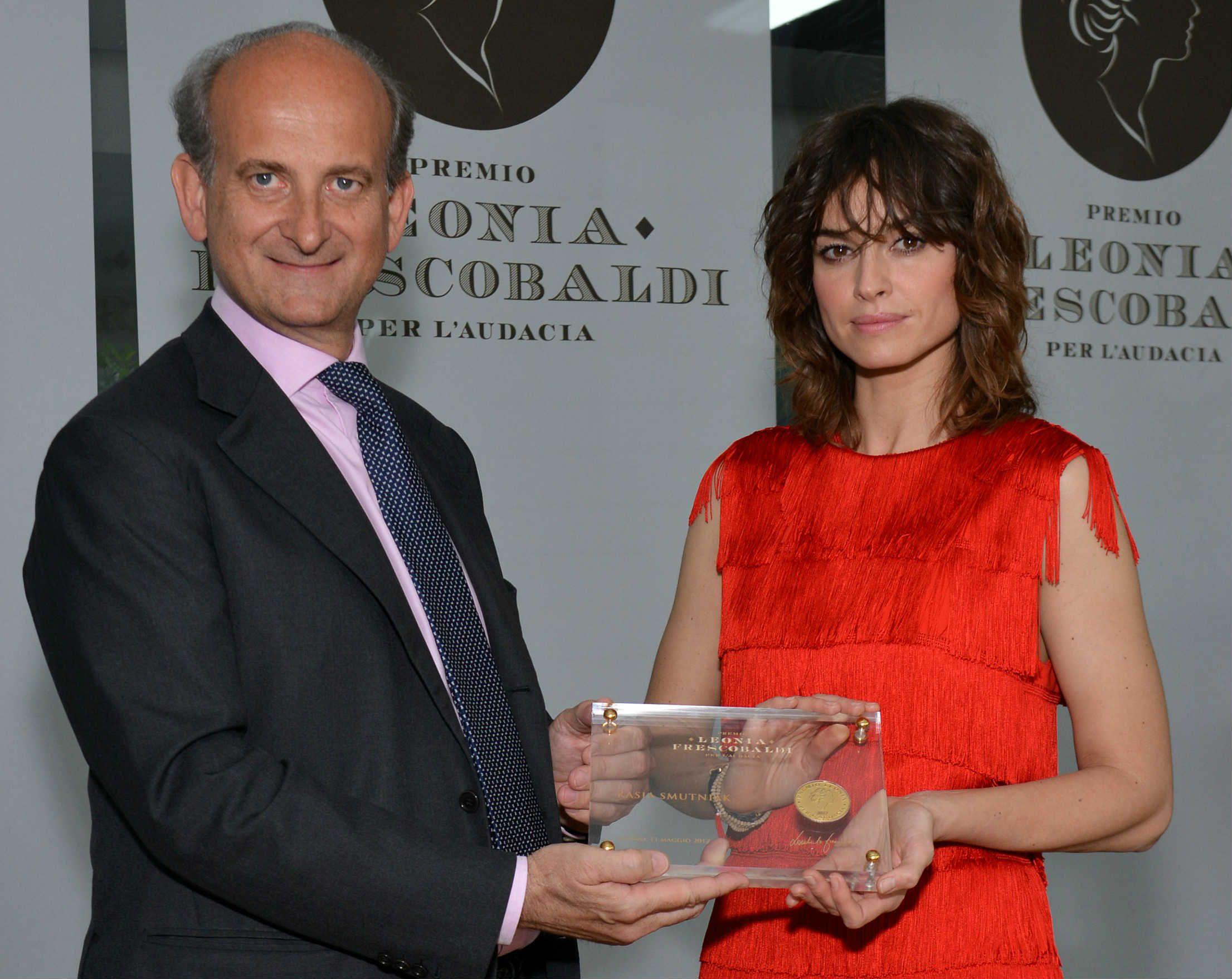 Premio Leonia - Lamberto Frescobaldi e Kasia Smutniak