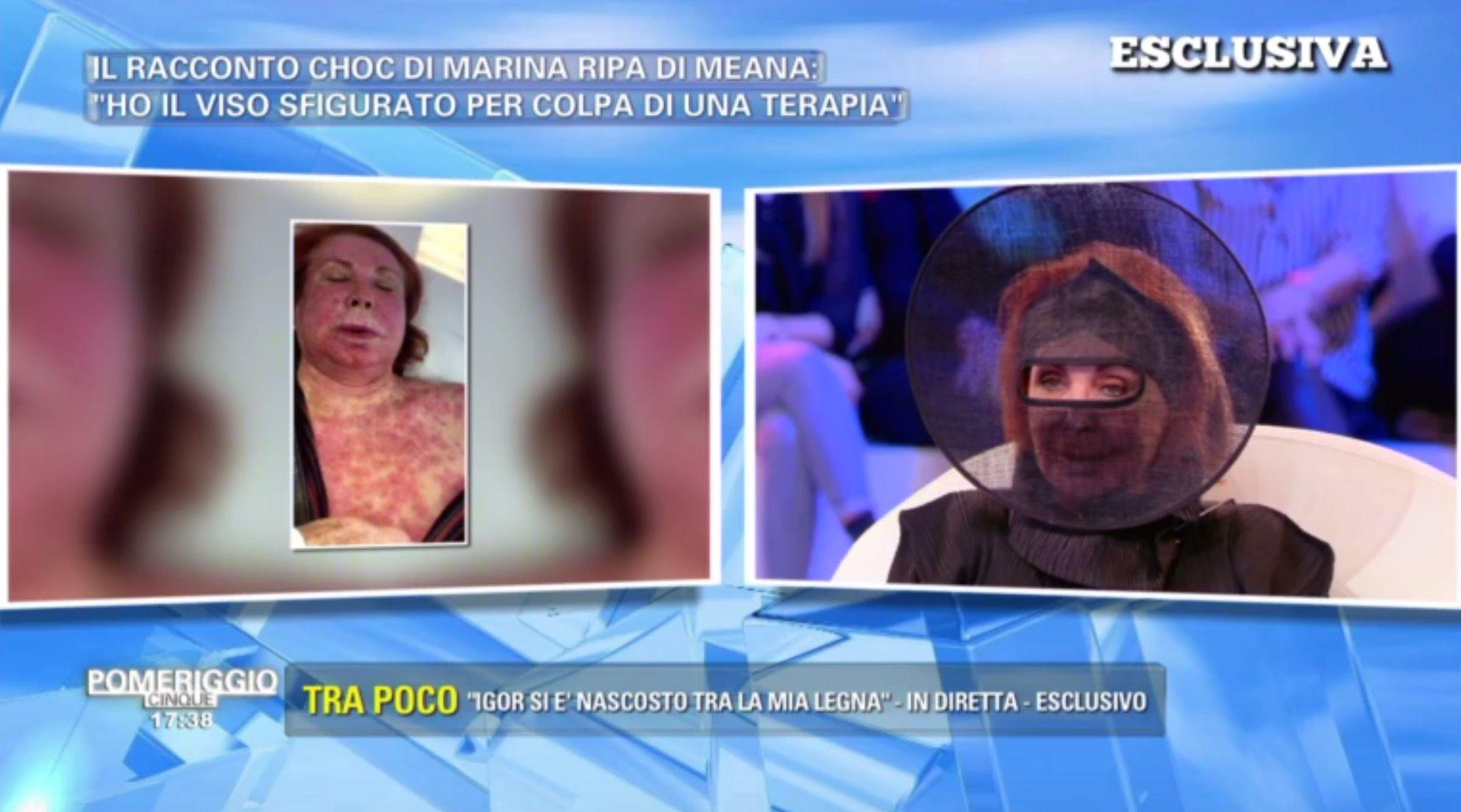 Marina Ripa di Meana irriconoscibile: