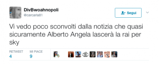 Alberto Angela lascia la Rai? L'appello dei fan su Twitter