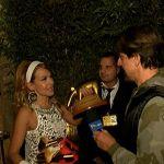 Striscia la notizia, tapiro d'oro a Barbara d'Urso per i filmati 'a sorpresa'