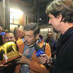 Striscia la notizia, Francesco Gabbani: 'Io ubriaco? Forse la scimmia'