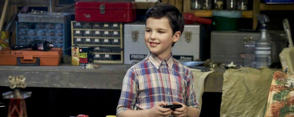Young Sheldon, le prime immagini del prequel di The Big Bang Theory