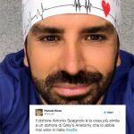 Selfie, tutti pazzi per il dottor Antonio Spagnolo: i tweet più divertenti