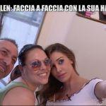 Le Iene, Belen Rodriguez e l'incontro ravvicinato con una sua hater