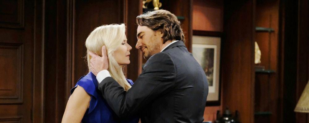 Beautiful, l'ennesima proposta di matrimonio di Ridge a Brooke: anticipazioni dal 5 al 9 giugno