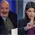 Maurizio Costanzo contro Virginia Raggi per l'emergenza rifiuti a Roma: 'E' un'incapace'