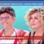 Domenica Live, Eva Grimaldi a Imma Battaglia: 'Con te ho conosciuto l'amore'