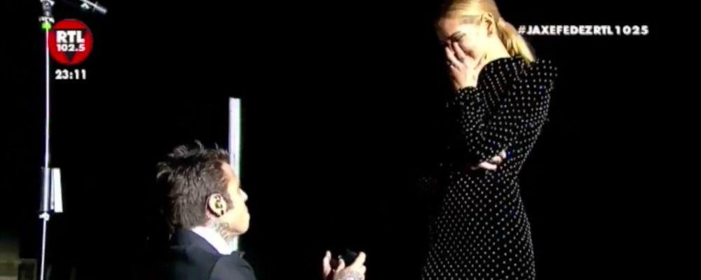 Fedez e Chiara Ferragni, la proposta di matrimonio: il video