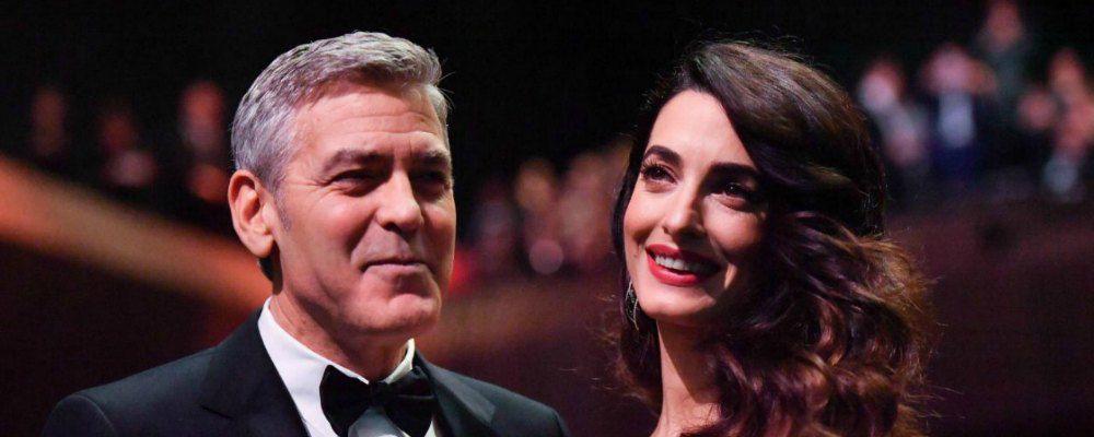 George Clooney e Amal Alamuddin aprono scuole in Libano per i bambini siriani