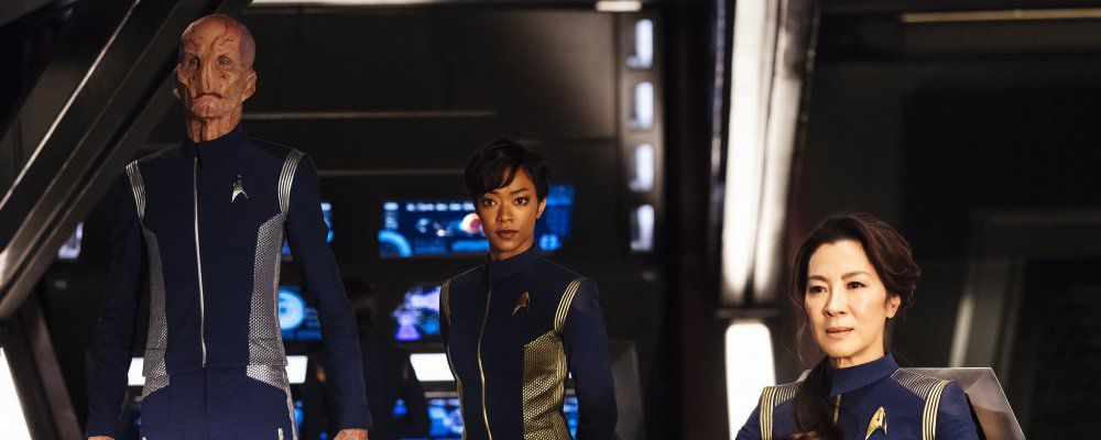 Star Trek: Discovery, le prime immagini con Spock bambino, l'astronave e l'equipaggio