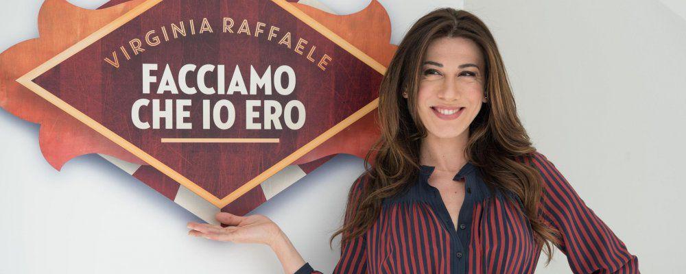 Ascolti tv, Virginia Raffaele: partenza record per Facciamo che io ero