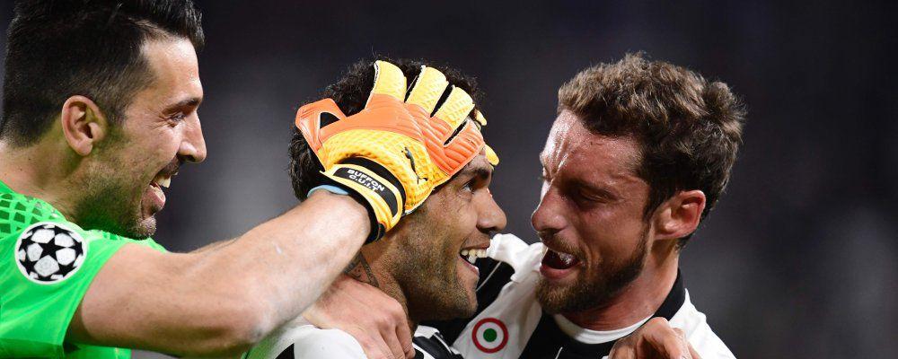 Ascolti tv, oltre 9 milioni di telespettatori per Juventus - Monaco