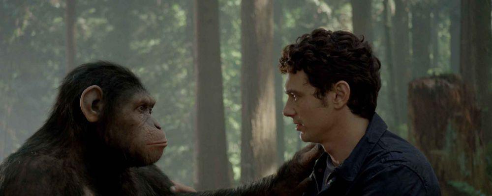 L'alba del pianeta delle scimmie, il prequel con James Franco: trama, cast e curiosità
