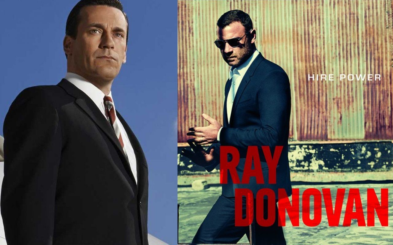 Ray Donavan 3 e Mad Men 7 al via su Rai4 in chiaro