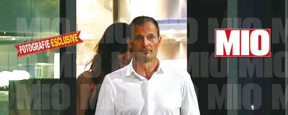 Ambra Angiolini, presunta prima crisi di coppia con Massimiliano Allegri